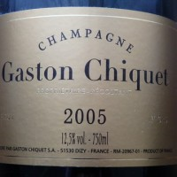 CHAMPAGNE Gaston Chiquet 2005