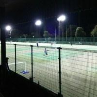 日曜日夜7時からのテニス