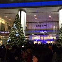 11/23 PARCOクリスマスツリー点灯式