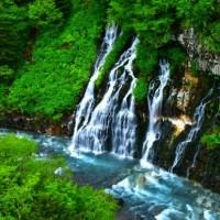 白ひげの滝。