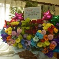 メットライフドーム、所沢にお届けの楽屋花