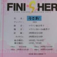 日記0228:さが桜マラソンの結果