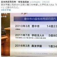 森友学園に売却される前に購入を希望した学校法人Aは「5億8千万円では足りない」と断られた