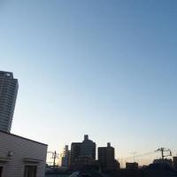 今朝(12月9日)の東京のお天気:晴れ