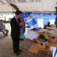 荒井駅前賃貸マンション(仮称)地鎮祭