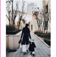 【クォン・サンウ Family】今日は私たちの母娘忙しい日^^