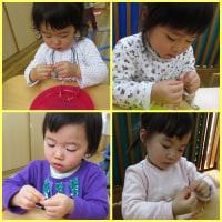 ☆2歳児(すみれ組)子どもの成長☆