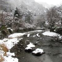 京都八瀬は雪国?