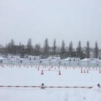 大雪なので電車で札幌へ