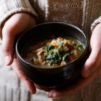 玄米おむすびと野菜スープの会