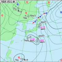 日本は台風3つに包囲されたような感じに・・・北海道での被害が心配