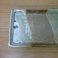 中根さんの四角皿(還元焼成)