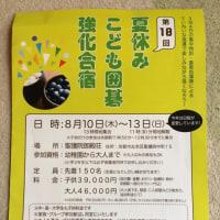 夏の囲碁合宿:vol.2第18回「夏休みこども囲碁強化合宿」