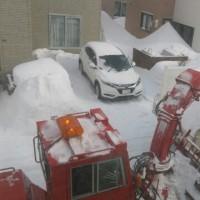 はるからふゆまで!!・・・排雪作業❗