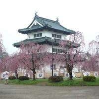 旅、弘前城
