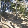 春林院古墳と山門の獅子