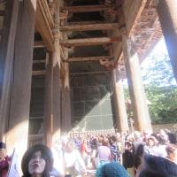奈良の大仏さま こんにちわ