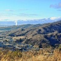 平成28年如月の生坂村の朝の風景