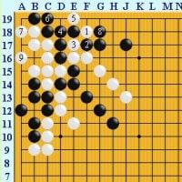 囲碁死活1165官子譜