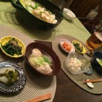 お鍋の夕ご飯…