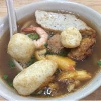 Banh Canh Cua 蟹の身のタピオカ麺③