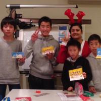 Very MerryChristmas in 左京教室