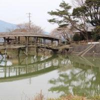 内子 弓削神社太鼓橋
