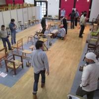 椅子だけの作品展「座っ展・2017」は明後日から