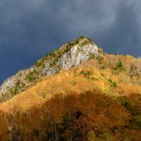 層雲峡の紅葉が見頃を迎えていました(その2)