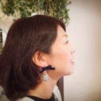 【香るアクセサリー】香珠codama〜世界でたった1つのアロマイヤリング〜リボン編