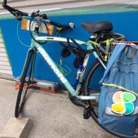 隣のおじさんの自転車