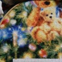 【HAED】Teddy Bear Tree 27枚目-10 休暇中はクマちゃんステッチ三昧^m^