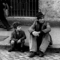 映画 自転車泥棒(1948) 戦後イタリアの不況のどん底を描く