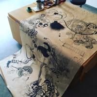ギャラリー翔さんでの絵本展、終了致しました