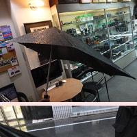 ステルス戦闘機の様な傘は風に強いって!