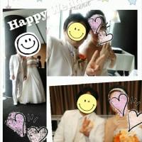 昨日は結婚式でした。