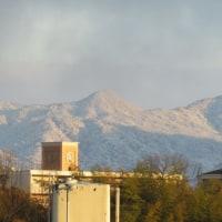 また雪景色に。 それでも春は・・・
