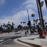サンタモニカはねカリフォルニアの真っ青ビーチのはず。。@ロサンゼルス旅行記15
