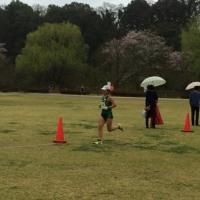 大雨の中の思い川マラソン