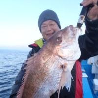 12月4日(日)一つテンヤマダイの釣果