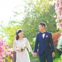 満開のツツジに囲まれて @御船山で前撮りロケーションフォト Pre-wedding photo session from Hong Kong