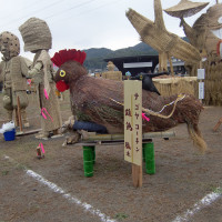 10月25日 案山子祭り準備