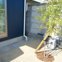 屋外水栓移動