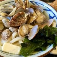 丸亀製麺 季節限定「春のあさりバターうどん」