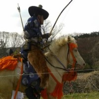 武蔵嵐山 鎌形神社 流鏑馬