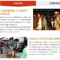 田峯田楽 (国指定重要無形民俗文化財)
