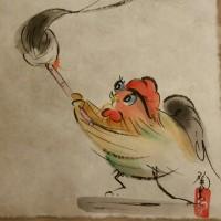 酉さんのイラスト、楽しい🎵
