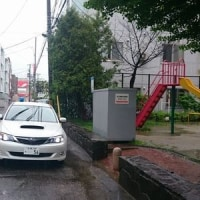 青色回転灯防犯パトロール(2017年5月27日)