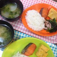 焼き魚と味噌汁