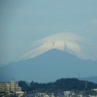 5月24日、笠雲の富士山~♪